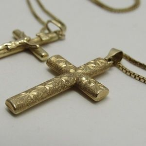 Jewelry - 14k Gold Cross Necklace